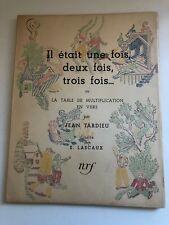Tardieu/Lascaux-it was once, twice, three times... NRF Gallimard Paris 1947