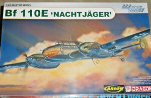Dragon: Messerschmitt Bf-110E Nachtjäger; Maßstab 1/48; Ansehen!!! Top!!!