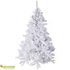 albero di natale bianco folto 210 cm  artificiale pino abete realistico