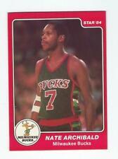 1983-84 STAR #39B NATE ARCHIBALD BASKETBALL CARD