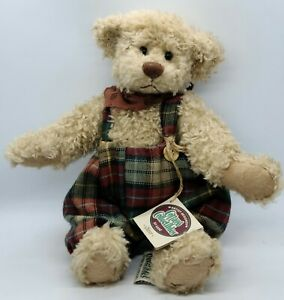 """Ganz Cottage Collectibles Oliver Bear Plush 10"""" CB134 Stuffed Animal Toy"""