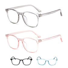 Square Computer Glasses Women Men Pink Blue Anti Blocking Light Weight Comfort