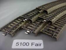 EE 5100 FR Fair Marklin HO M Tracks Pack of 6 Fair Condition