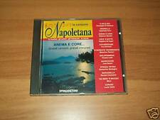 CD-LA CANZONE NAPOLETANA-ANEMA E CORE-DE AGOSTINI-1994
