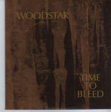 (DE292) Woodstar, Time To Bleed - 2002 DJ CD