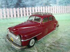 1/43 AGM De Soto 1948  Handmade White metal Model Car