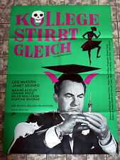 KOLLEGE STIRBT GLEICH /A JOLLY GOOD FELLOW * MUNRO - A1-Filmposter EA -1966 RANK