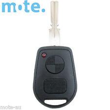 BMW 2 Button Key Remote Case/Shell/Blank 3-5-7 SERIES X3 X5 Z4 E38 E39 E46 M5 M3