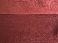 iLiv Strata Sorrento Wine CHENILLE Upholstery, curtains, cushions, craft.