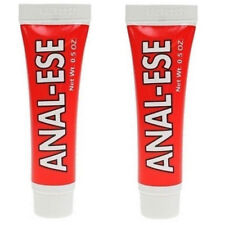 2 x ANAL EASE (ESE) Desensitising Numbing Cream Lube Sex Aid UK SELLER FAST 15ml
