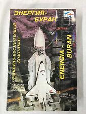 Mint Modell 1:288 Scale Energia & Buran Unassembled Plastic Model Kit USSR 1988