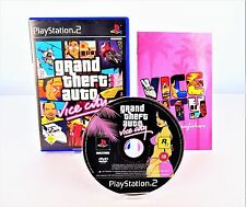 PS2 Grand Theft Auto: Vice City GTA (Sony PlayStation 2) Instrucciones