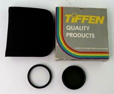 Tiffen 46mm Neutral Density 0.6 (N.D.) & Clear Filter Made in USA