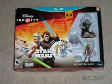 2015 Nintendo Wii U Disney Infinity 3.0 STAR WARS Starter Pack Game - NEW Sealed