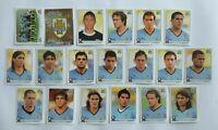 Panini WM 2010 Uruguay Mannschaft Team Complete Set World Cup WC 10