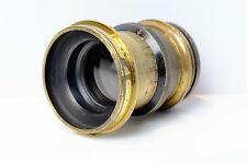 VINTAGE BRASS LENS APROX 250MM F8