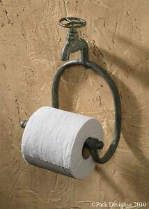Park Designs Water Faucet Toilet Tissue Paper BATH TP holder