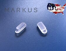 Markus T Replacement Silicone Nose Pads For Eyeglasses Sunglasses Push-in Snapin