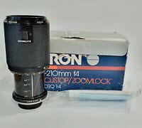 Kiron Kino Precision 70-210mm f/4 Telephoto Camera Lens - M42 Mount