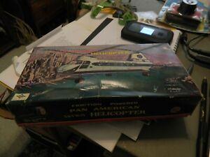 nib  daiya japan friction pan american skyway helicopter tin