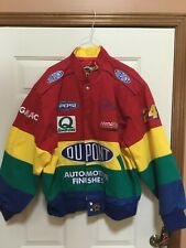 NASCAR Jeff Gordon Dupont Rainbow Racing Jacket Size Extra Large