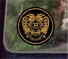 "ProSticker 034 (One) 3.5""  Masonic Freemason Scottish Rite Decal Sticker Lodge"