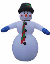 NEW 20 Foot JUMBO Christmas Air Blown Inflatable Snowman Yard Garden Decoration