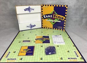TAKE 4 FOUR - A CHALLENGING WORD GAME - LEARNING RESOURCES - 100% COMPLETE, VGC