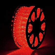 Red LED Rope 150ft 110V 2 Wire Flexible DIY Lighting Outdoor Christmas