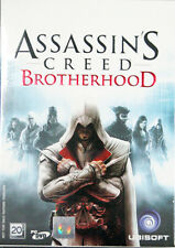 **  Assassin 's Creed : Brotherhood  ** PC DVD GAME ** Brand new Sealed **