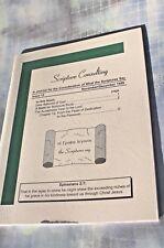 Scripture Consulting Walter J. Cummins, Issue 12, Nov / Dec 1999