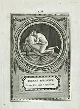 Two 18th century Erotic Copperplate Engravings, France, Erotica
