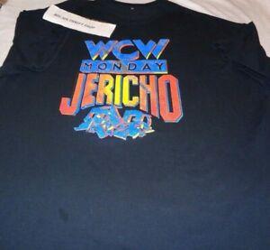VTG WCW Monday Chris Jericho Anonymous Jerichoholics Shirt Wrestling WWE WWF AEW