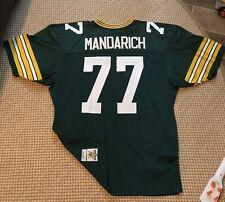 Tony Mandarich Authentic Sandknit MacGregor Green Bay Packers Jersey 48 XL