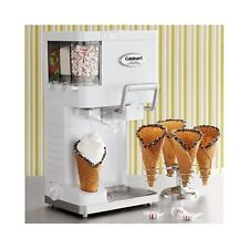 Cuisinart Ice Cream Maker Machine Soft Serve Dispenser Home Kids Sorbet Sherbert