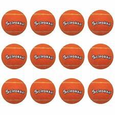 12 Pack Dog Squeaky Tennis Balls - Attractive Orange Pet Dog Chew Toys Set