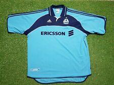 Olympique marsella camiseta XXL 1999 2000 adidas camisa jersey 99/00 Ericsson