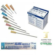 Terumo Agani Needles Sterile no syringes Hypodermic all sizes 18G-30G UK Seller