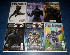 RISE of the BLACK PANTHER #1 2 3 4 5 6 variant set MOVIE PHOTO GAME 1st print NM