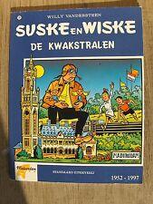Speciale Suske en Wiske De kwakstralen blauwe omslag !!