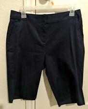Teen girls Dark Navy School Uniform Knee Length Shorts size 5 New