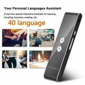 Translaty MUAMA Enence 40 Languages Smart Translator Instant Voice Photograph