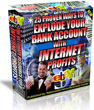 25 PROVEN WAYS TO EXPLODE  YOUR BANK ACCOUNT WITH INTERNET PROFITS Pdf Ebook