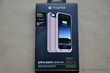 NEW MOPHIE JUICE PACK RESERVE FOR iPHONE 6S 6 ROSE GOLD 1840 mAh BATTERY CASE