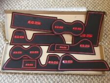 MG GS INTERIOR DASHBOARD MAT GATE PAD TRIM SET - RED ONLY