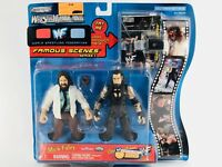 Wrestlemania Mick Foley Undertaker 2000 Jakks 2-Pack WWF WWE Rare Figures Toys