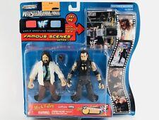 Wrestlemania Mick Foley Undertaker 2000 Jakks 2-Pack WWF WWE Rare Figures Toys