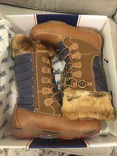 Pajar Women's Phyllis Boot, Cognac/Navy, 41 EU/10 M US