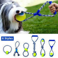 Braided Rope Interactive Dog Toys Pet Puppy Animal Toy for Small Large Dogs Play