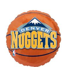 Denver Nuggets Basketball Foil Balloon NBA Licensed Tailgate Birthday